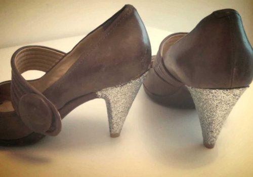 Personalizando zapato