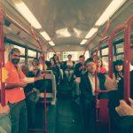 campaña de marketing coruña - comedia en el autobus