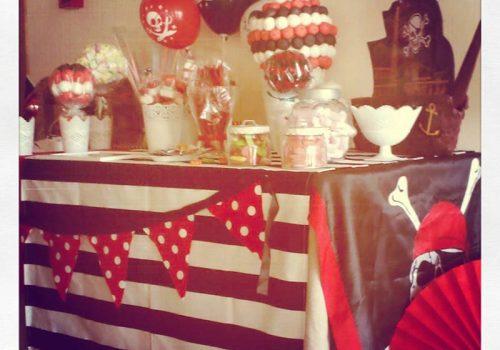 mesas de dulces para fiestas infantiles