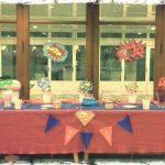 decoración de mesa dulce para fiesta